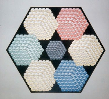 243 - Hexagon (Study for the examinations) [60x50]